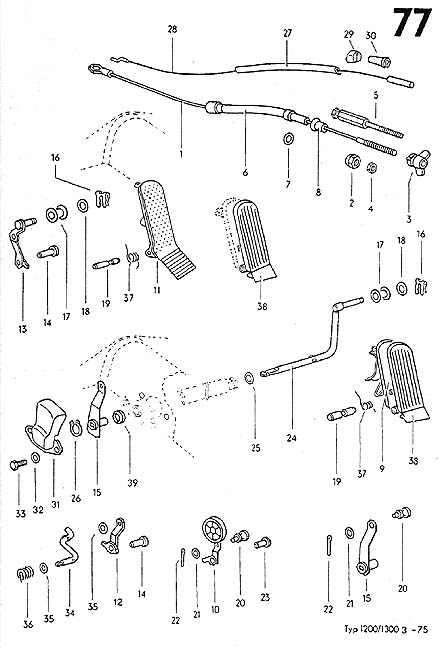 classic vw beetle parts catalog